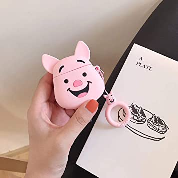 Sevenpanda Coque Pour Airpod 3d Rigolote Silicone Dessin Animé Mignon Pour Apple Airpods 12 Kawaii Souple Avec Mousqueton étui Uniques Pour Enfants