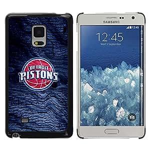 Design for Girls Plastic Cover Case FOR Samsung Galaxy Mega 5.8 Detroit Piston Basketball OBBA