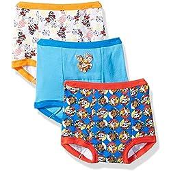 Nickelodeon Toddler Boys' Paw Patrol Boy 3pk Training Pant, Assorted, 2T