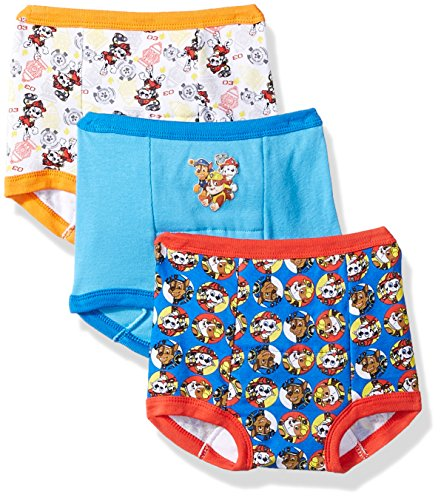 Nickelodeon Boys' Toddler' 3-Pack, Assorted Paw Patrol, 4T ()
