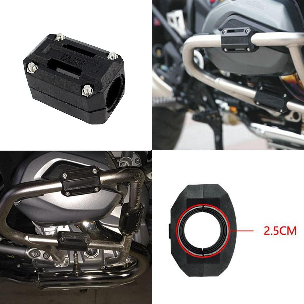 XX eCommerce Motorcycle Motorbike 25MM Crash Bar Engine Guard Protector Set Slider For BMW F800GS ADV R1200GS