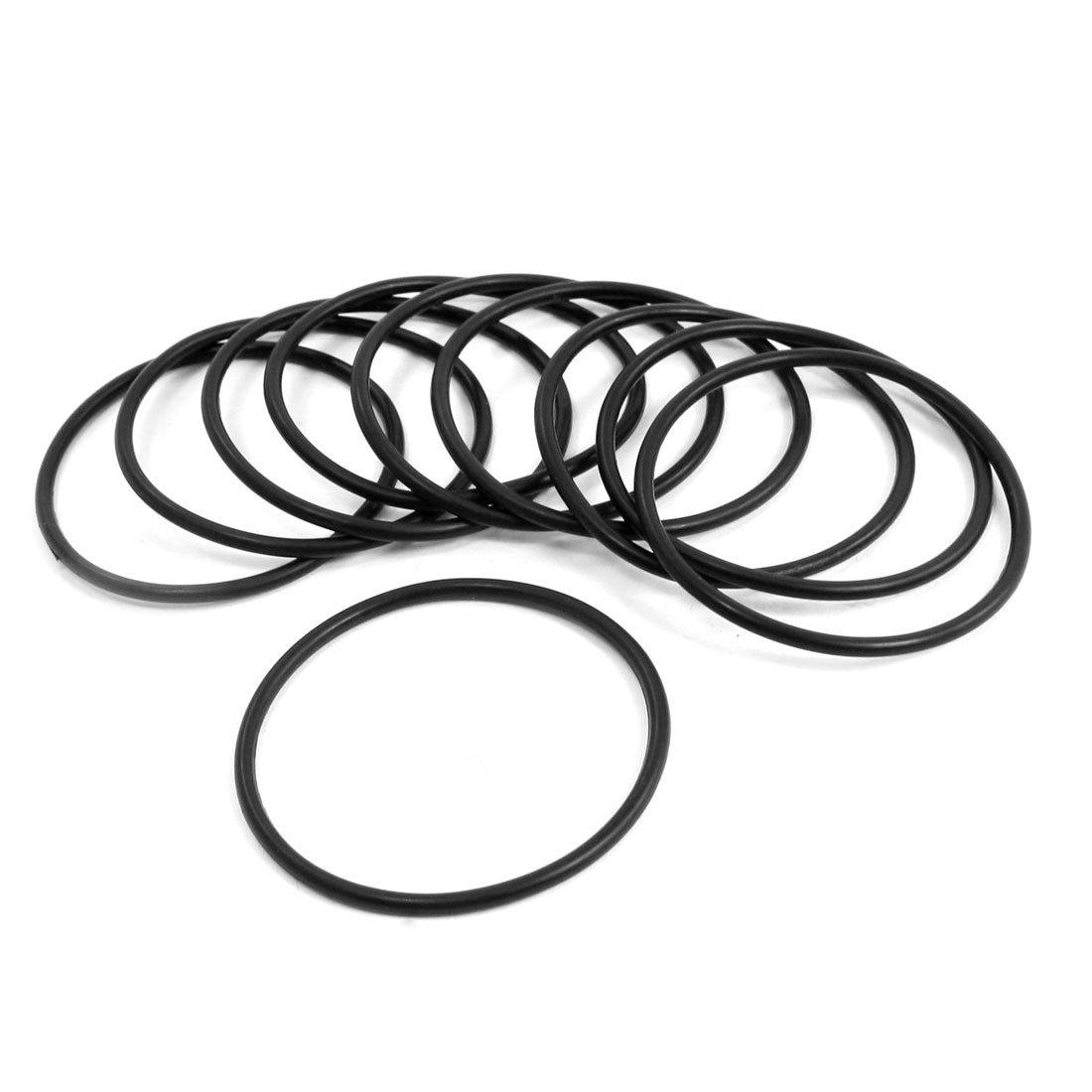 10 pz 16 millimetri x 3 millimetri contenente olio di guarnizioni o-ring di gomma meccanico Sourcingmap