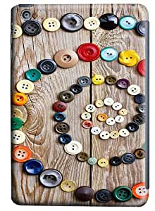 iPad Mini Case and Cover -Colorful Buttons PC case Cover for iPad Mini