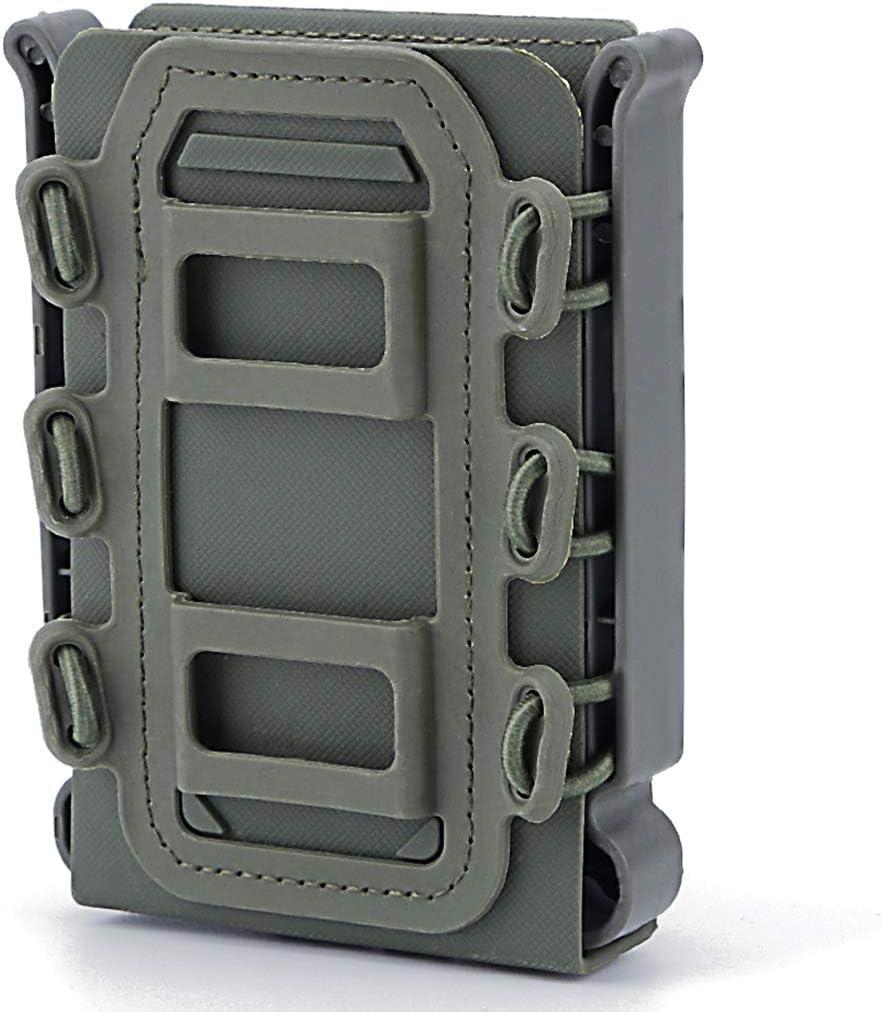 9mm Taktische Magazintasche Airsoft Mag Pouch Magazine Holder Fastmag f/ür Ar15 M4 5.56 7.62 Mag TONGJI Mag Pouch Molle 3 St/ück
