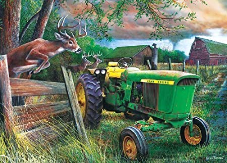MasterPieces John Deere Crossing Jigsaw Puzzle, 1000-Piece by MasterPieces