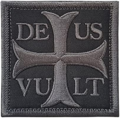 2AFTER1 Subdued Deus Vult God Wills It Crusader Knight Holy Cross ...