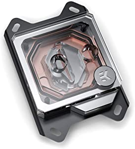 EKWB EK-Velocity CPU Waterblock, AMD CPU, Copper/Plexi