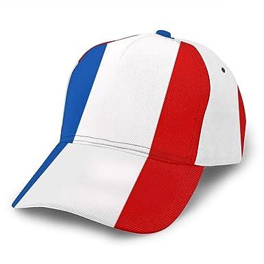 Liliylove Gorra de béisbol Ajustable de la Bandera de Francia para ...