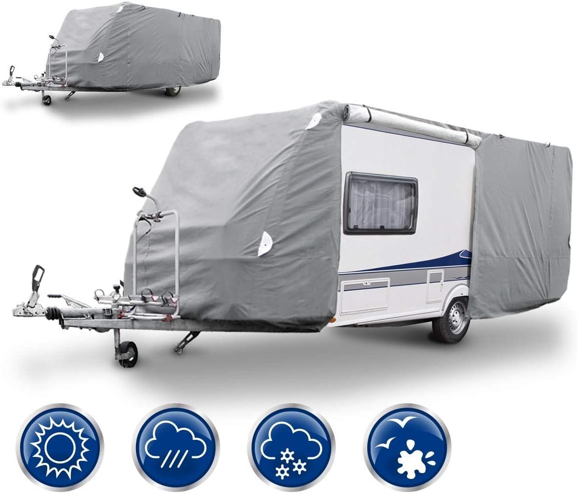 Festnight Housse de Protection pour Caravane 610 x 230 x 220 cm