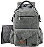 Hap Tim Multifunction Large Baby Diaper Bag Backpack W Stroller StrapsInsulated Bottle PocketsChanging
