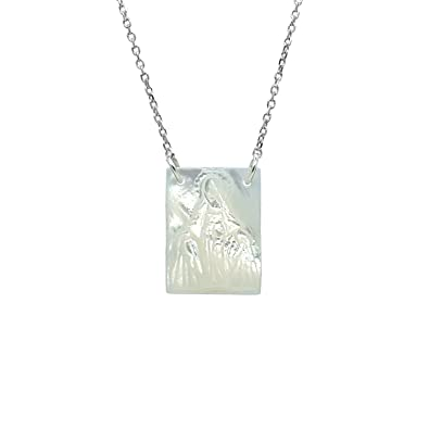 Grace Sterling Silver Necklace Agmes 1M4mw