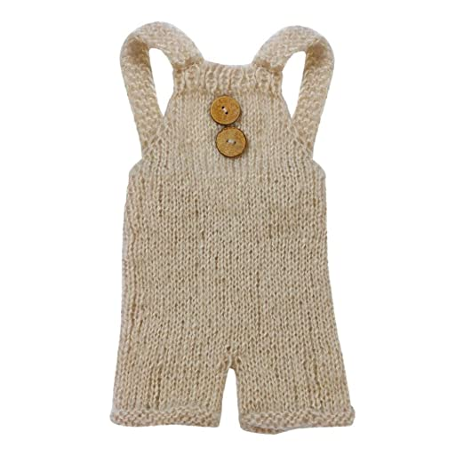 5e3089a5a Amazon.com  Corsion Baby Newborn 0-6 Months Knitted Crochet Clothes ...