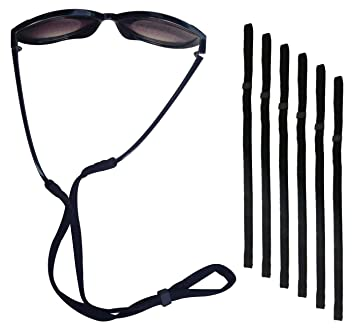 50b131a1448 Fixget Fixget Petrel S66 Eyewear Retainer Sports Sunglass Holder Straps  Eyewear Retention System Set of 6  Amazon.in  Home Improvement
