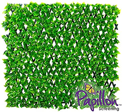 1 x 2 m extensible mampara álamo Artificial verde Trellis – por ...