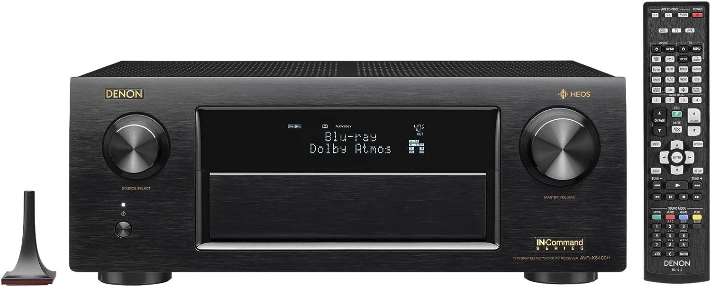Denon AVRX6400H 11.2 Channel Full 4K Ultra HD Network AV Receiver with HEOS, Black