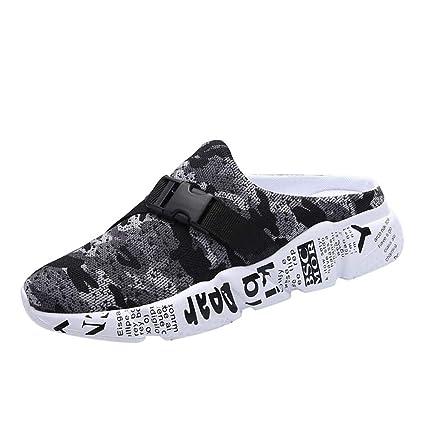 f5e1c21e089d4 Amazon.com: JJLIKER Mens Mesh Camouflage Summer Outdoor Sandals ...