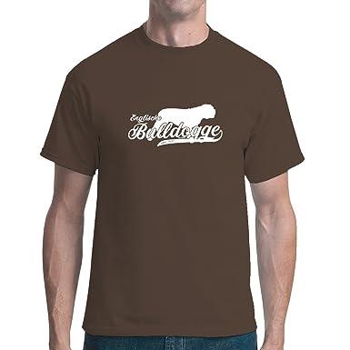 Fun unisex T-Shirt - Hund: Englische Bulldogge (weiß) by Im-