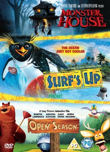 Surf's Up / Monster House / Open Season [Import anglais] (Monster House Tv Series)