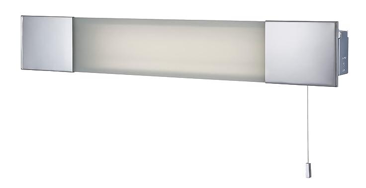 firstlight - lámpara de bajo consumo para baño con enchufe para ... - Lamparas De Bajo Consumo Para Bano