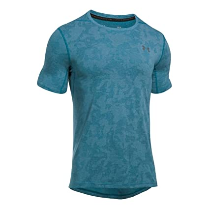753207d66ca Amazon.com: Under Armour Men's Threadborne Elite Fitted Short Sleeve:  Clothing