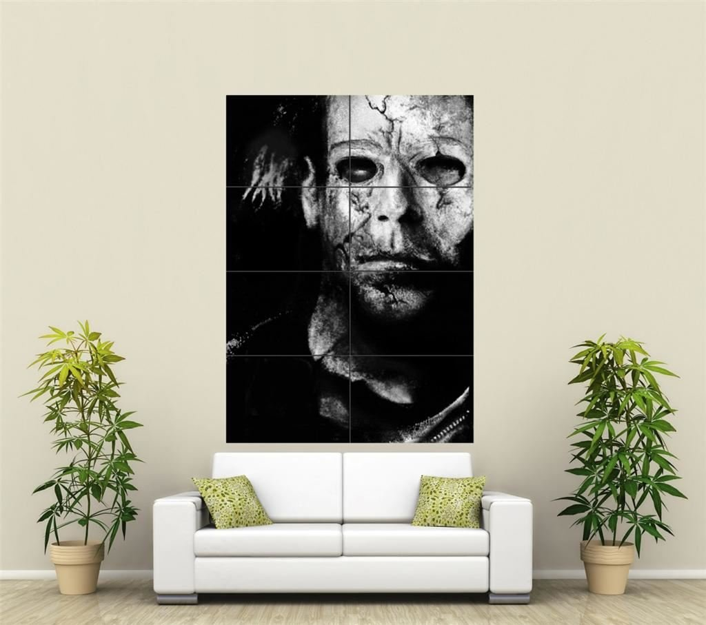 Superieur Amazon.com: MICHAEL MYERS GIANT WALL ART PRINT POSTER ST211: Posters U0026  Prints