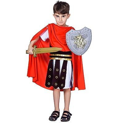 Boy's Roman Warrior Costume: Clothing