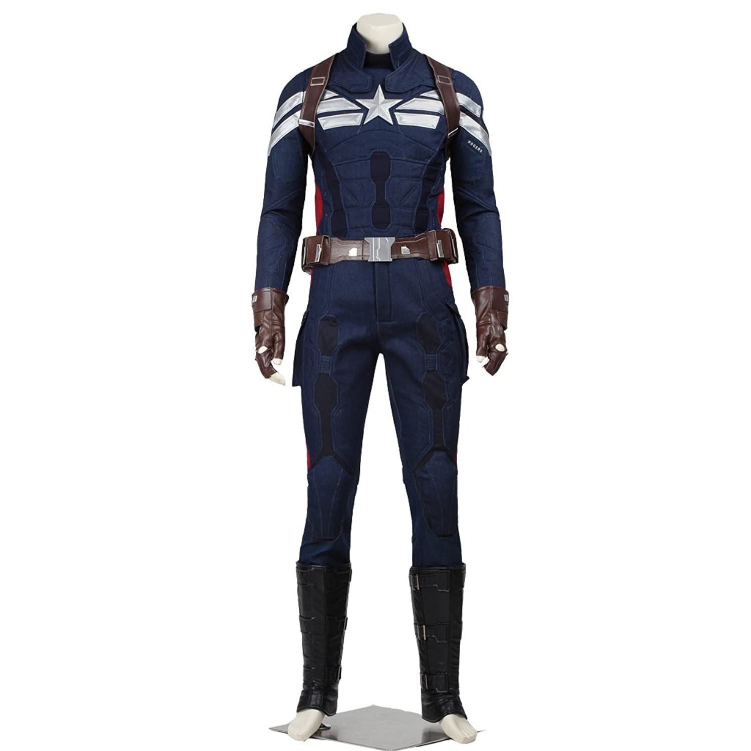 Men's Captain America: The Winter Soldier Cosplay Costume - DeluxeAdultCostumes.com