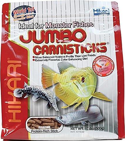 Hikari Usa Inc AHK21642 carnivoreivore Sticks Jumbo 17 6-Ounce