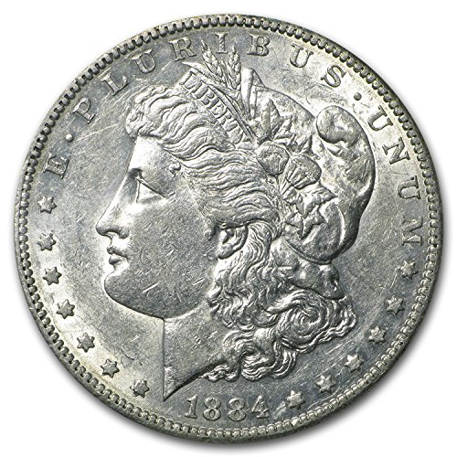 1884 S Morgan Dollar AU-50 $1 AU-50