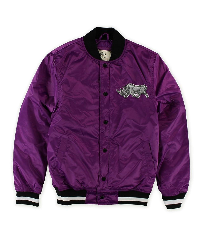 Ecko Unltd. Mens Think Tank Bomber Varsity Jacket