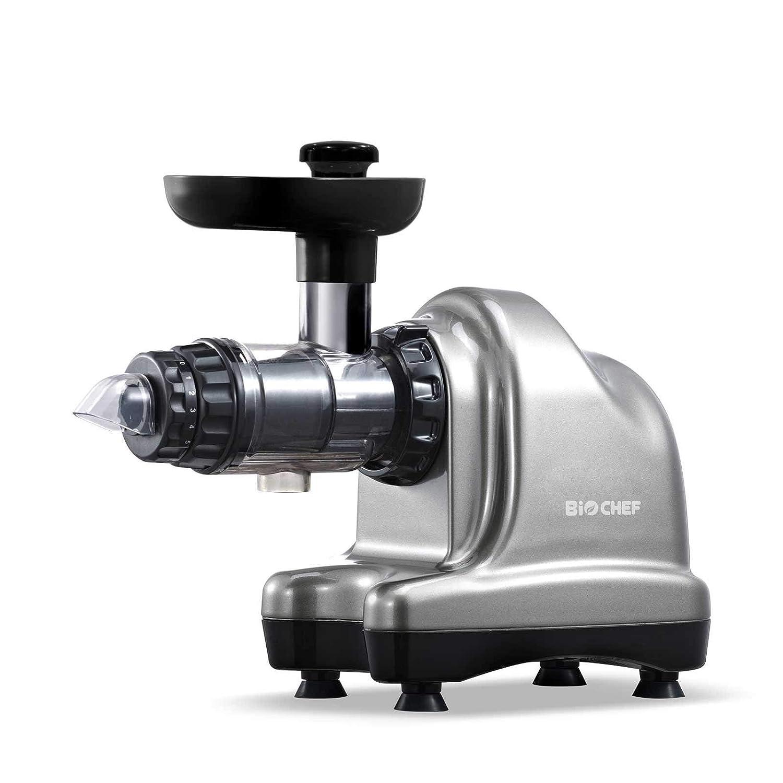 BioChef Axis Cold Press Juicer - Extractor de zumo horizontal ...