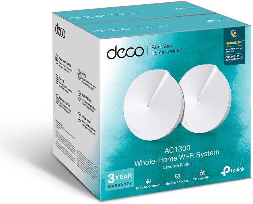 Tp Link Deco M5 2 Pack Wlan Access Point 1300 Mbit Computer Zubehör
