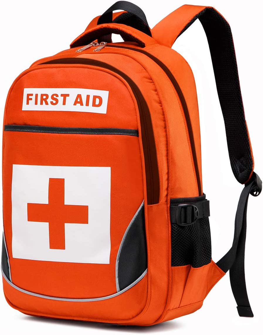 Camoredy Medical First Aid Bag Empty Emergency Treatment Backpack Large First Responder Trauma Bag Waterproof