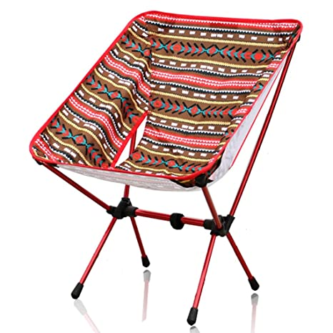 YUN HAI Silla Plegable Ligera For Playa/Camping con Bolsa De ...