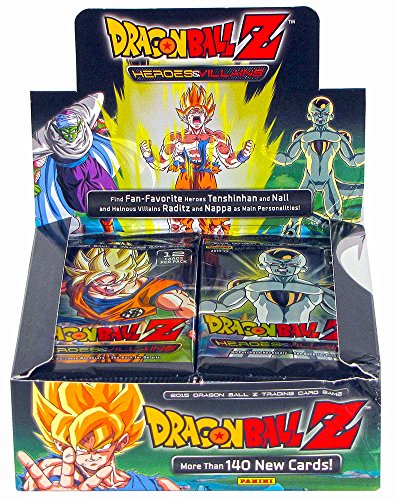 Dragon Ball Z Collectible Card Game Heroes & Villains Booster - Cards Trading Dragon