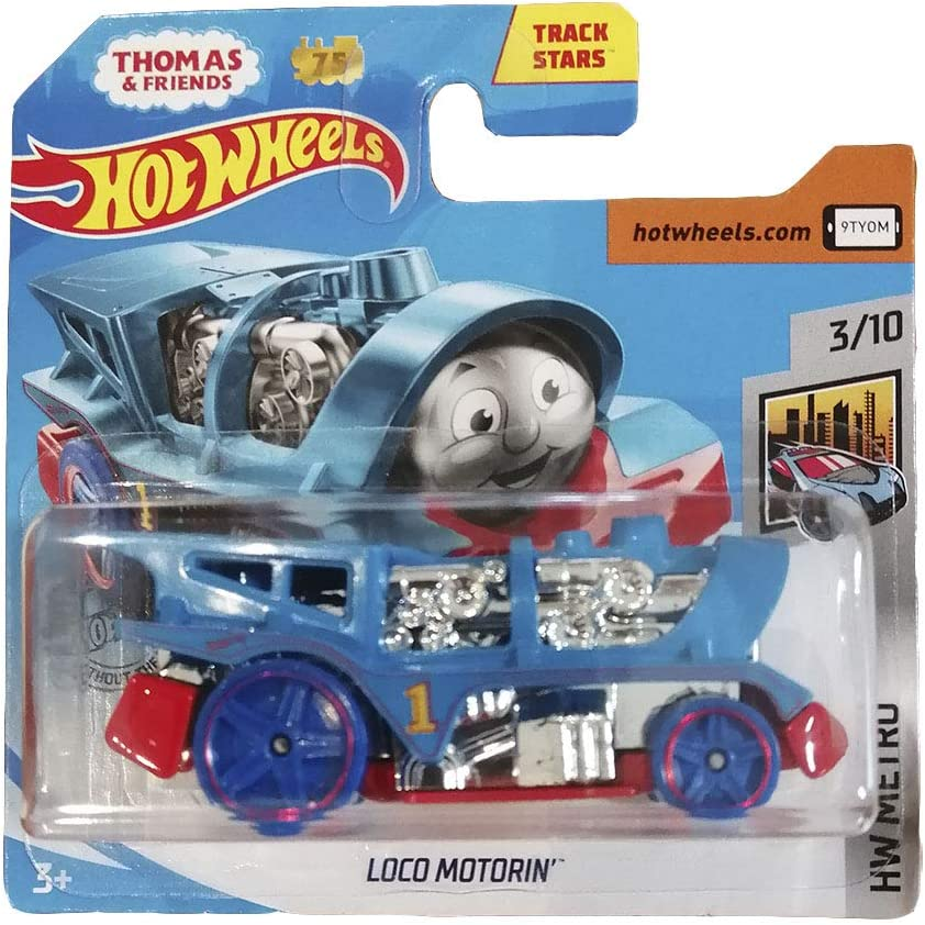 Hot Wheels 2020 Thomas and Friends Loco Motorin/' # 125 HW Metro 3//10 NEW on Card