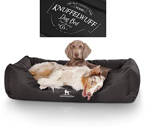 Knuffelwuff 13974 – 002 Resistente al Agua bedruckes Cama para Perros, Perro Almohada, sofá