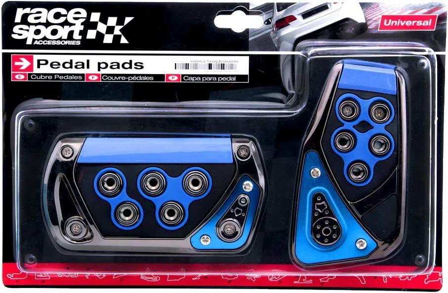 Sports Racing Accelerator Car Auto Brake Pedal Pads Covers Universal Manual