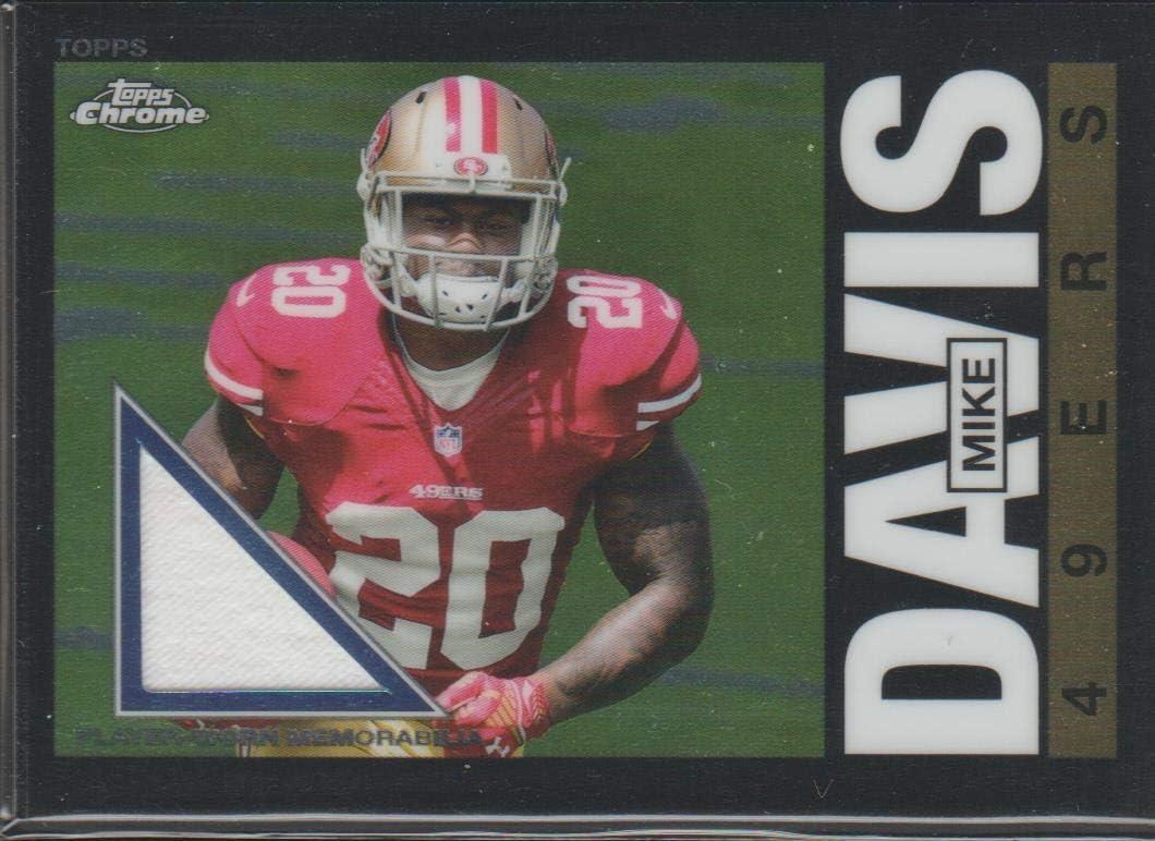 Amazon.com: 2015 Topps Chrome Mike Davis 49ers Jersey Football ...