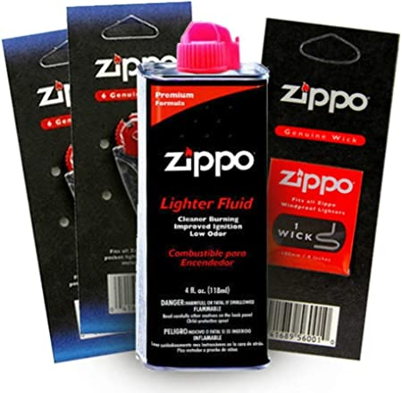 ZIPPO WICK Windproof Refillable Lighter GODFATHER High Quality Fun Gift Idea