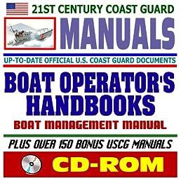 21st century u s coast guard uscg manuals boat operator s rh amazon com Starcraft Boats Manuals Hurricane Boat Manuals