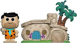 Funko Pop! Town: Flintstones - Flintstone's Home, Multicolor, Model:47681