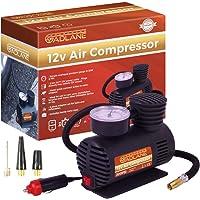 GADLANE 12V 300PSI Air Compressor Electric Pump Tyre Air Inflator, For Car Bike Motorbike Inflatables