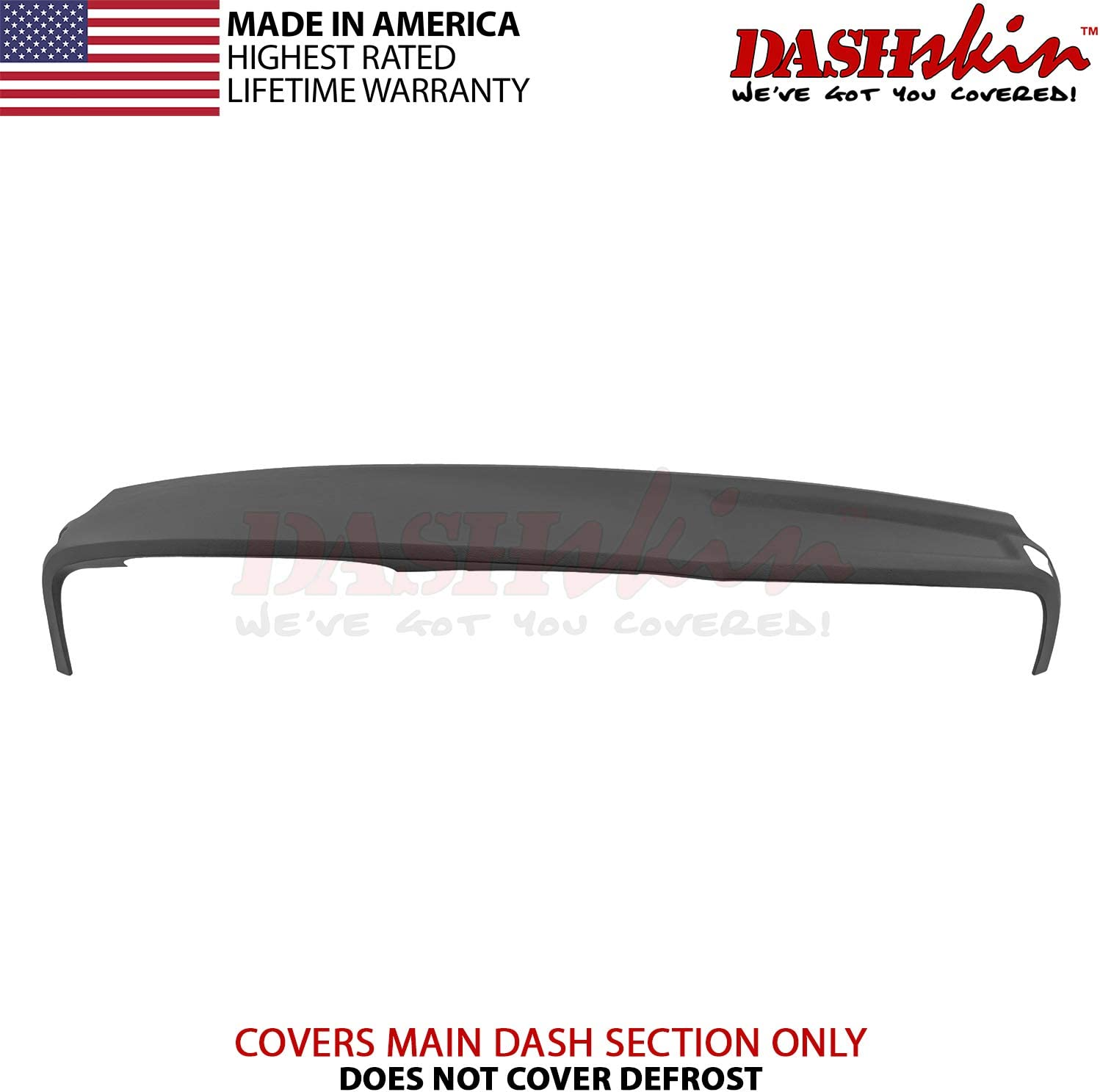 DashSkin Molded Main Dash Cover Compatible with 02-05 Dodge Ram in Dark Slate Grey (USA Made)