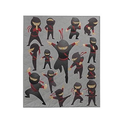 Amazon.com: InterestPrint Collection of 15 Ninja Fighting ...