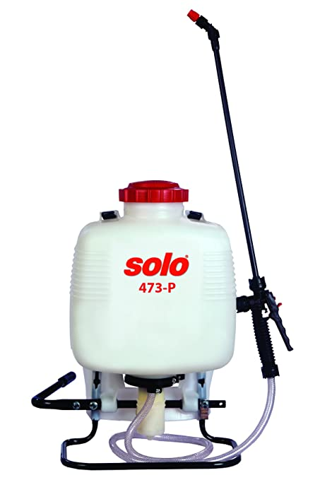 Solo 473-P 3-Gallon Professional Backpack Sprayer, Pressure Range up to 90  psi
