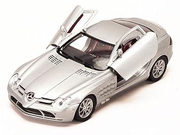 Amazon Com Mercedes Benz Slr Mclaren Silver Motormax 73306 1