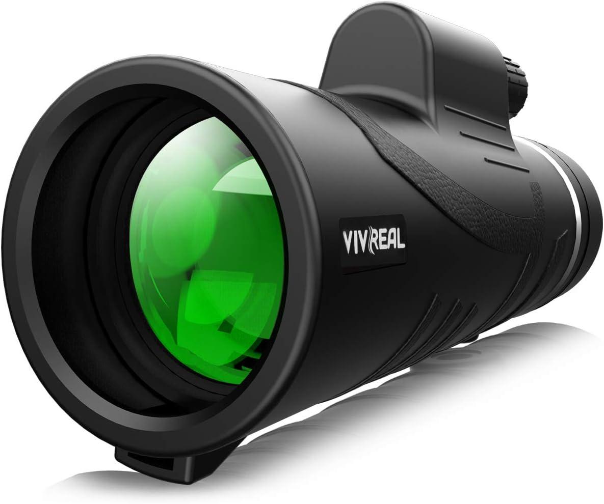 Monocular Telescope - 12X50 High Power 【HD Monocular for Bird Watching】 with Tripod IPX7 Waterproof Monocular Made by Hyper FMC BAK4 Prism & Eco-Friendly Materials : Camera & Photo
