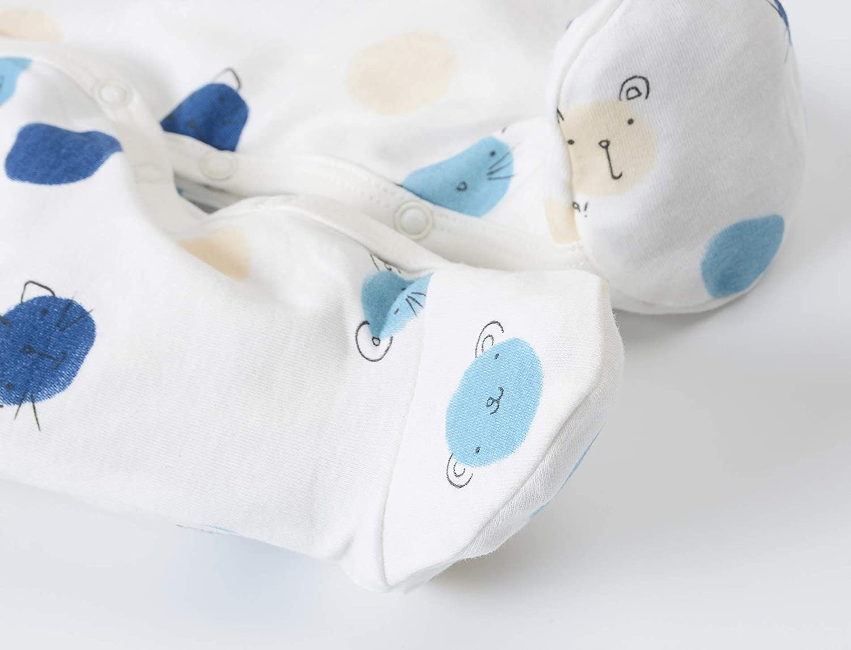 Pyjama B/éb/é Combinaisons Filles Gar/çons Grenouill/ères en Coton Bodys /à Manches Longues 0-12 Mois