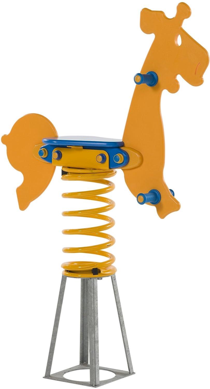 Federtier Giraffe - Schaukelpferd Wipppferd